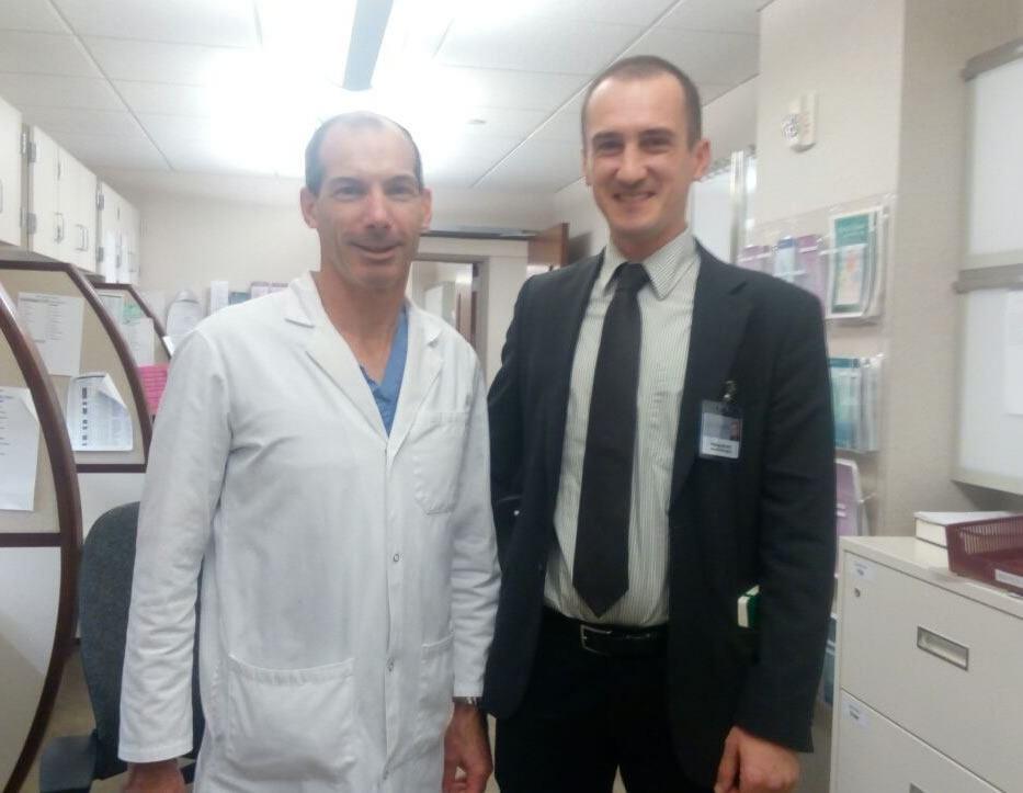 Dr. Tomislav Anić na trotjednoj edukaciji u klinici Mayo