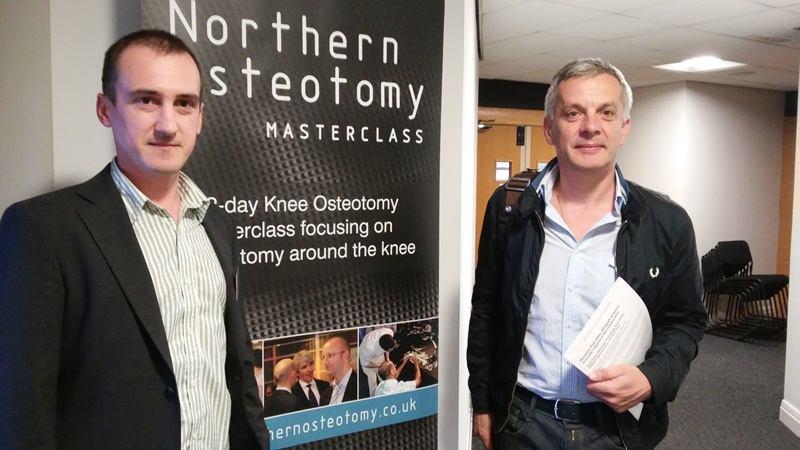 Dr. Salamon i dr. Anić na međunarodnom skupu Northern Osteotomy Masterclass