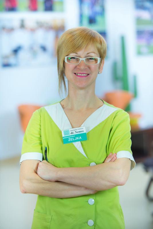Željka Hrenek - assistant administrator