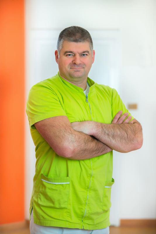 Denis Dobravac, bacc. physioth. - senior physiotherapist