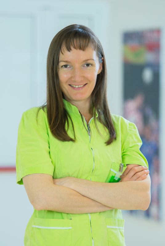 Jasmina Kušar, bacc. med. rad. - medical radiology engineer