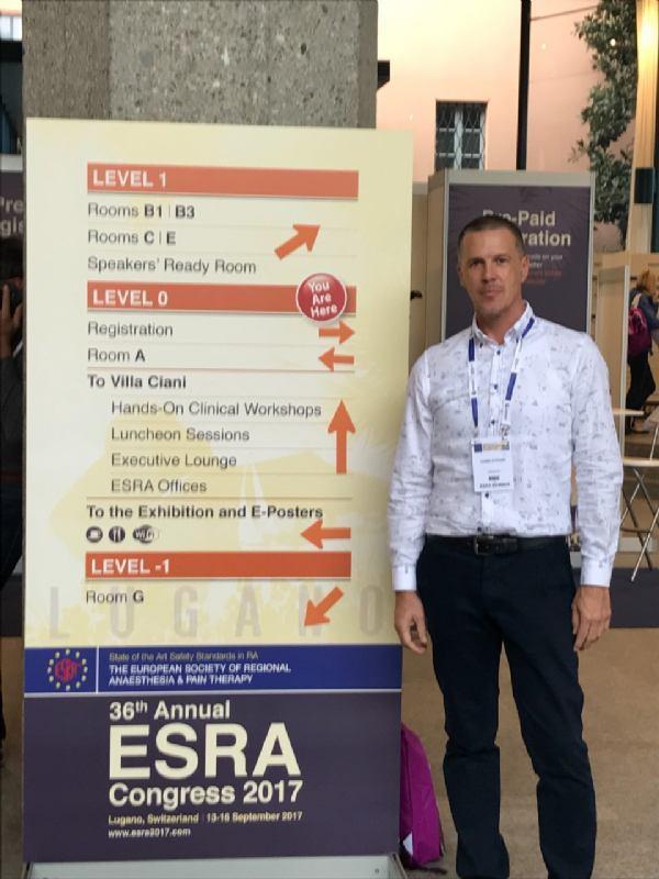 36. kongres Europskog društva za regionalnu anesteziju i terapiju boli